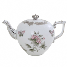 Herend Platinum Royal Wedding Anniversary Teapot - Limited Edition of 70